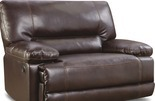 Stratolounger® Roman Snuggle Up Chocolate Recliner