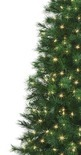 6' Pre-Lit Artificial LED Christmas Tree, Hard Needle with Dual-Color Lights