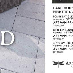 Art van house fire
