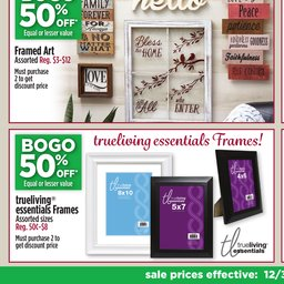 dollar general weekly ad dec 03 to dec 09 - Dollar General Picture Frames
