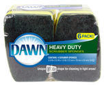 Dawn Scrubber Sponges 6-Pack