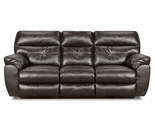 Dual Reclining Lucky Espresso Sofa or Loveseat