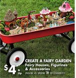 Fairy Houses, Figurines & Accessories