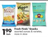 Fresh Finds™ Snacks