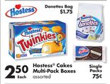 Hostess® Cakes Multi-Pack Boxes