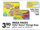 Hefty® Basics® Storage Bags