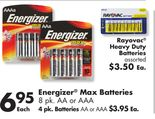 Energizer® Max Batteries