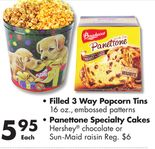 Panettone Specialty Cakes