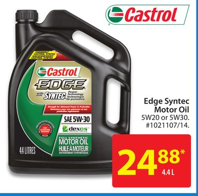 5w20 30 4 4l Castrol Edge Wm Canada Product