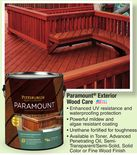 Pittsburgh Paramount® Exterior Wood Care