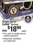 Victor Allen's Single Serve Coffee 80-Pack