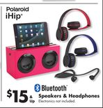 Bluetooth Speakers & Headphones