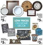 Low Prices on Home Décor