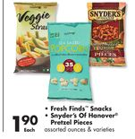 Fresh Finds™ Snacks, Snyder's of Hanover® Pretzel Pieces