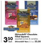Ghirardelli® Chocolate Filled Squares
