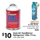 Auto Air Conditioner Refrigerant 134a 12 oz