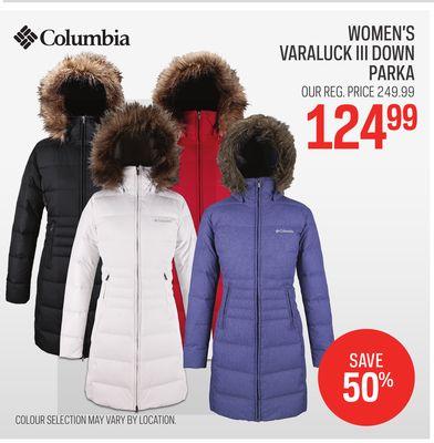 a86b2c497 Columbia Women's Varaluck III Down Parka - 汉唐· 布兰登