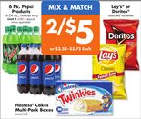 6 Pk. Pepsi Products