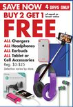 ALL Chargers ALL Headphones ALL Earbuds ALL Tablet or Cell Accessories
