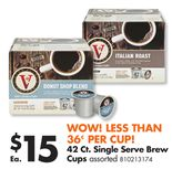 42 Ct. Single Serve Brew Cups