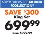 Super Pillowtop Medina King Set Collection