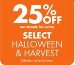 Select Halloween & Harvest
