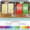 Rose & Robin™/MC Flameless 2Colour-Changing LED Candles 2-Pack with Timer & Remote