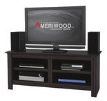 "Ameriwood™ 60"" Four Shelf TV Stand"