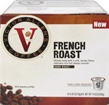 Victor Allen's Coffee® French Roast Single Serve Brew Cups, 42-Pack