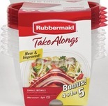 Rubbermaid Take Alongs® Food Containers