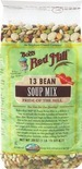 13 Bean Soup Mix 29 oz., 13 Bean Soup Mix29 oz., Bread Mix 16 oz., Organic Golden Flaxseed Meal 16 oz.