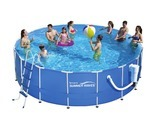 "17' x 52"" Metal Frame Pool"