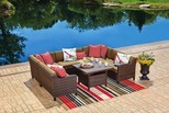 Sonoma Cushioned Patio Set