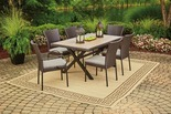 7 Pc. Hyde Park Resin Wicker Patio Dining Set