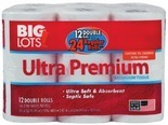 Scott® 6 mega roll paper towels or 12 double roll bath tissue and Big Lots® 12 double roll bath tissue