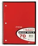 70 Sheet Notebooks & 2 Pocket Portfolios