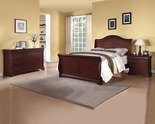 Henry Queen Sleigh Bed, 2-Piece Set