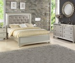 Stratford Gemma Platinum Queen Bed, 2-Piece Set