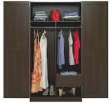 Ameriwood Dark Russet Armoire with Drawer