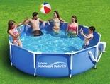 """Summer Waves Metal Frame Pool, (10' x 30"""")"""