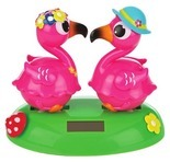 Solar Powered Moving Novelty Characters