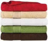 Living Colors 100% Cotton Bath Towels