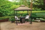 Pinehurst Small Space Grill Gazebo