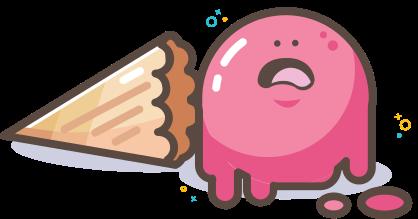 image of a sad ice cream