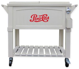 Pepsi-Cola 80-Quart Patio Cooler in White Deal in Houston