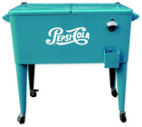 Permasteel Pepsi-Cola 80-Quart Patio Cooler in Blue Deal in Houston