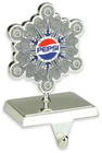 Northlight 6.5-Inch Pepsi® Snowflake Christmas Stocking Holder in Silver Deal in Houston