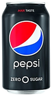 Pepsi Max Zero Calorie Cola - Soda, Cola Flavor - 12 fl oz (355 mL) - Can - 12 / Pack Deal in Houston
