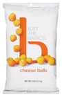 Just The Basics Cheese Balls, 4 OZ Deal in Houston