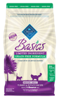 BLUE Basics® Limited Ingredient Grain Free Turkey and Potato Indoor Adult Cat Food size:5 Lb Deal in Houston